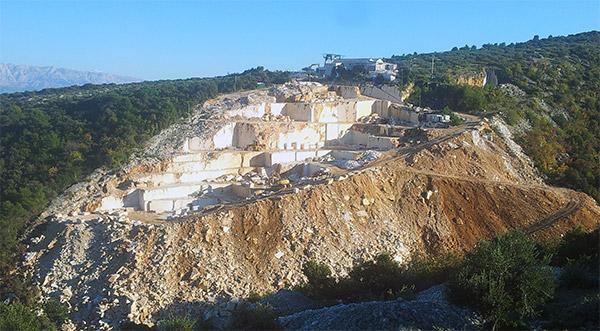 OK Stipe kamenolom na Braču / OK Stipe quarry on Brac