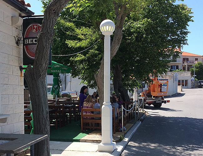 Ulične i vrtne lampe / street and garden lamps
